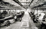 Aircraft assembly production line established by Weir of Cathcart during World War I