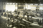 Aircraft assembly workshop at Beardmore's Dalmuir shipyard 1915