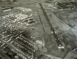 Aerial view of Renfrew Airport in 1966