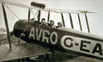 Avro 504K training and joyriding biplane c1921