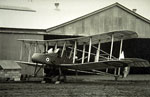World War I fighter biplane the FE2B built in Glasgow in 1916