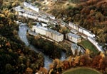 Aerial Photograph of New Lanark Village, Autumn 1979