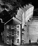 Caithness Row After Restoration in New Lanark, 1981
