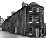 Caithness Row After Restoration in New Lanark, 1969