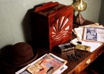 1930's Room in Mill Workers House Exhibition, New Lanark, 1994