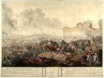 Print of the Battle of Alexandria, 21 March 1801