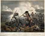 Imaginary incident involving a Highland soldier, by François Delarue