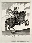 Engraving of Alexander Leslie, General of the Scottish Army