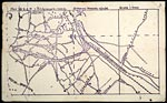 Trench map from World War I