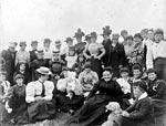Annual club mission outing for unmarried mothers, 1908