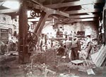 Workshop of Alexander Jack & Sons, Maybole, Ayrshire, c.1880s