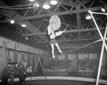 Circus in Waverley Market - Tight rope walker