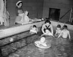 Challenger Lodge Children's Home - Children in swimming pool