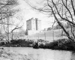 Borthwick Castle and Burn Castle in Midlothian