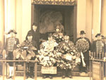 Wreath Laying Ceremony at Burns Mausoleum, 25th January 1931