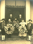 Wreath Laying Ceremony at Burns Mausoleum, 25th January 1929