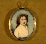 Miniature Painting of Jane Maitland