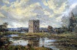 Oil painting - 'Threave Castle' by Malcolm McL. Harper