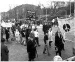 CND demonstration along the Dunoon promenade