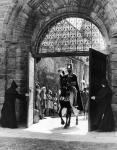 Robert the Bruce arriving at Arbroath Abbey during the 1955 Arbroath Pageant
