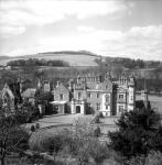 Abbotsford, home of Sir Walter Scott in Melrose, Roxburghshire, c. 1950