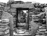The interior of the Broch of Gurness, Evie, Orkney Isles, c.1960s