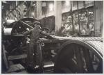 'Allanwhyte' wire rope during manufacture, Glasgow, c.1930