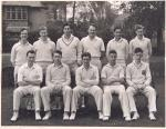 The St Andrews University Cricket Team, St Andrews, Fife, 1954