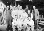 Group of joiners and painters, Royal Botanic Gardens, Edinburgh, c. 1950s - 1960s
