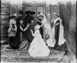 Amateur dramatics taking place at St.Monance, Fife, early 20th century