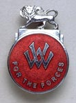 Women's Voluntary Service pin or badge