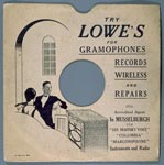 78 rpm record sleeve