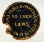 Anti-corn laws campaign sticker