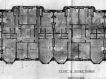 A drawing of the plan of upper floors at Wellington Street, Edinburgh