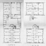 A Drawing of the floor plans of 37 Salisbury Street, Glasgow
