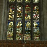 Apse Window in the Church of St Michael of Linlithgow