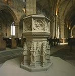 Baptismal Font in the Church of St Michael of Linlithgow