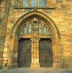 West Doorway in the Church of St Michael of Linlithgow