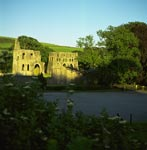 Exterior view of Dundrennan Abbey, Dumfries and Galloway
