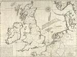 A Hydrographical Description, or, Chart of the Sea Coasts of Great Britain, Ireland, France, Holland, Germany, Denmark, & Norway, bordering on the Nor
