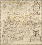 A new and correct map of the Shire of Peebles or Tweddale / survey'd by Will. Edgar, 1741 ; R. Cooper sculp.