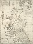 A New Map of North Britain with the Islands thereunto belonging
