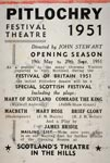 Advertisement for Pitlochry Festival Theatre in 1951
