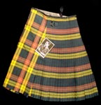 Jack Buchanan's kilt and photograph