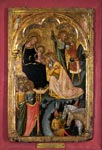 Adoration of the Kings with Saint Ursula and Saint Catherine of Alexandria