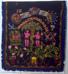 Ceremonial Apron of Armadale Thistle Lodge of the Order of Ancient Scottish Free Gardeners
