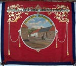 Banner of the 'Jessie of the Dell' Lodge, No 2242, of the Loyal Order of Ancient Shepherds (Ashton Unity), Armadale
