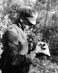 Photograph: Helmets were of limited use. Western, Front, France. c. 1916-1918