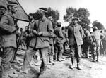 German prisoners. Western Front, France. c. 1916-1918