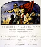 35th anniversary conference certificate issued to founding members of the ILP in 1927